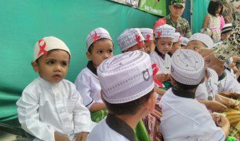 Circumcision ceremony, one of the religious activities in Islam
